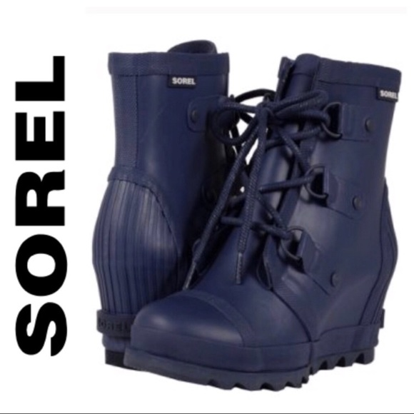 3d1fea74c184 Sorel Shoes - Joan Wedge Rain Boots by Sorel